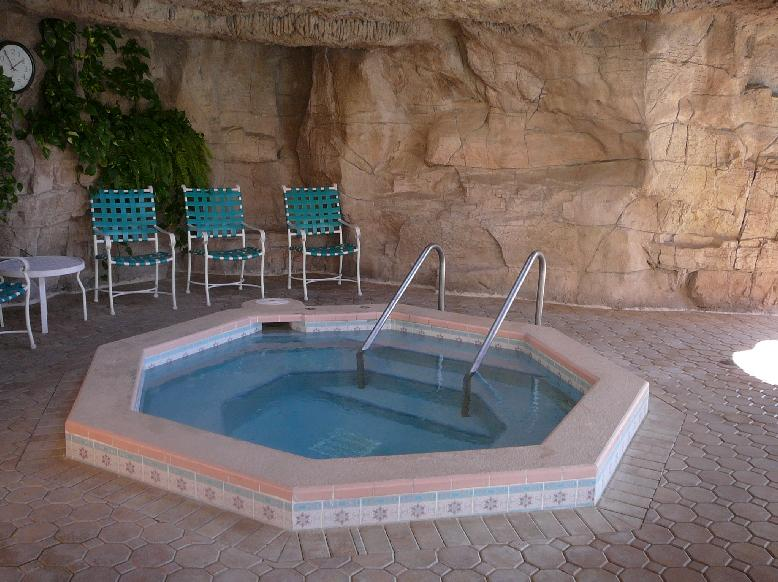 The Hot Tub at the Country Club pool at the Villages of Orange Blossom Gardens, The Villages, Florida 32159